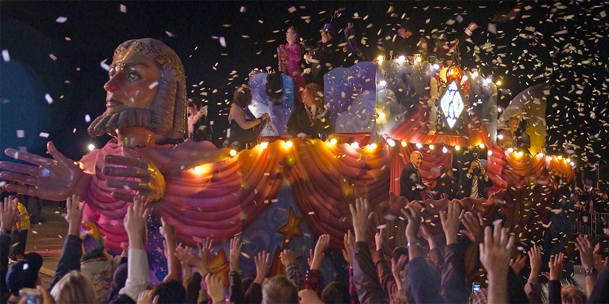 float-with-confetti