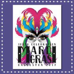 2018 Mardi Gras! Galveston Official Poster Contest